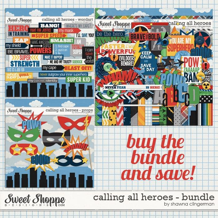 Calling all Heroes - Bundle